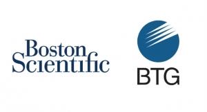 Boston Scientific Closes Acquisition of BTG plc