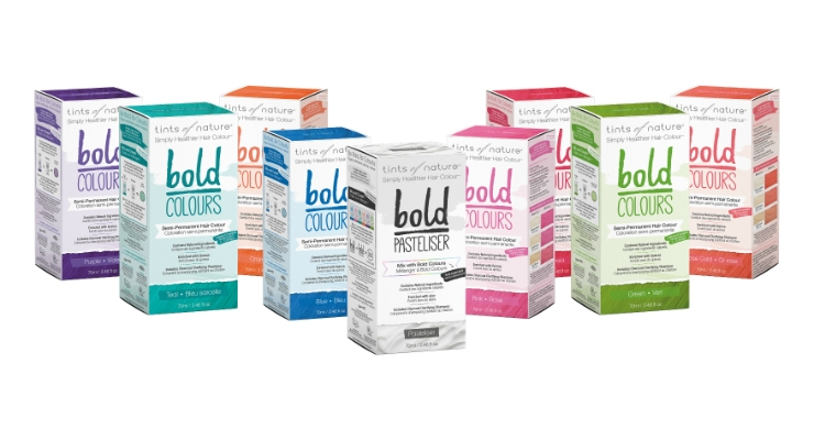 Tints of Nature Launching Bold Colours