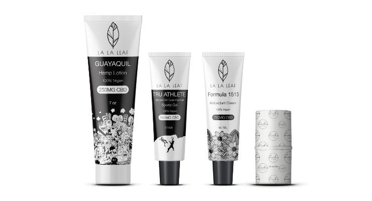 La La Leaf Skincare Brand Launches