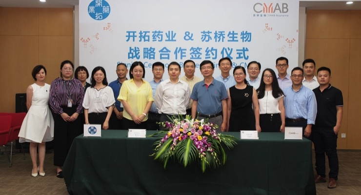 CMAB and Kintor Enter Mfg. Tie-up