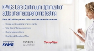 KPMG, Coriell and Thermo Fisher Collaborate on Links Between Medications and Genes