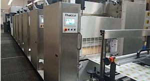 Contiweb demonstrates Thallo web offset press