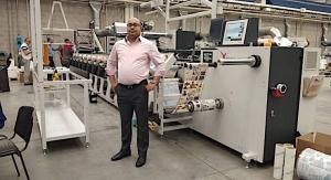 Mumbai converter adds third Omet press