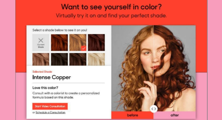 Color&Co Offers Virtual Try On