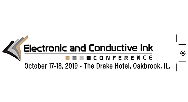 Electronic and Conductive Inks Conference heads to Oakbrook, IL