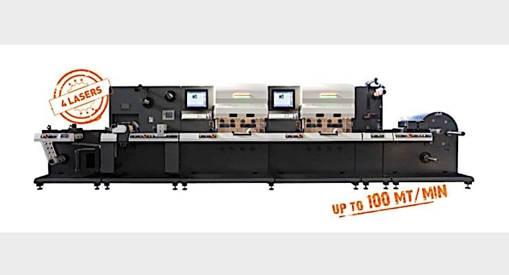 SEI Laser demonstrates Labelmaster digital diecutting
