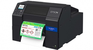 Epson debuts new ColorWorks on-demand label printers