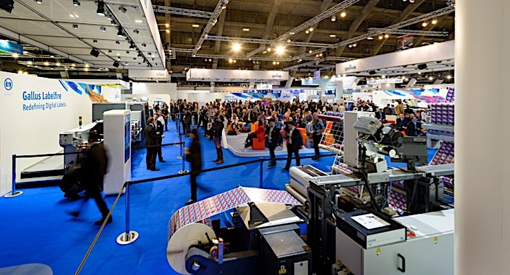 Gallus demonstrates hybrid printing with digital embellishment
