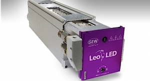 GEW debuts LeoLED UV curing system