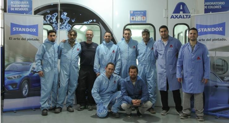 Axalta Offers Training in Argentina