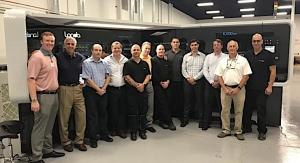 Marketing Alliance Group installs Landa press