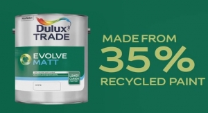 AkzoNobel Launches Recycled Paint
