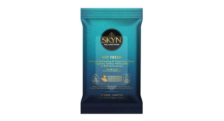 Condom Brand Launches Cleansing Wipes