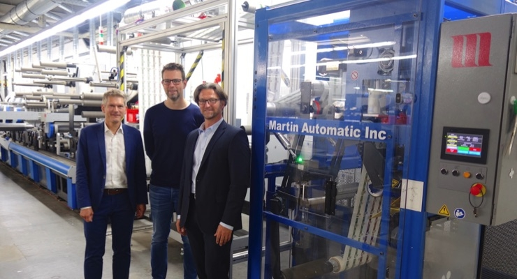 German printer reduces waste, boosts productivity with Martin Automatic