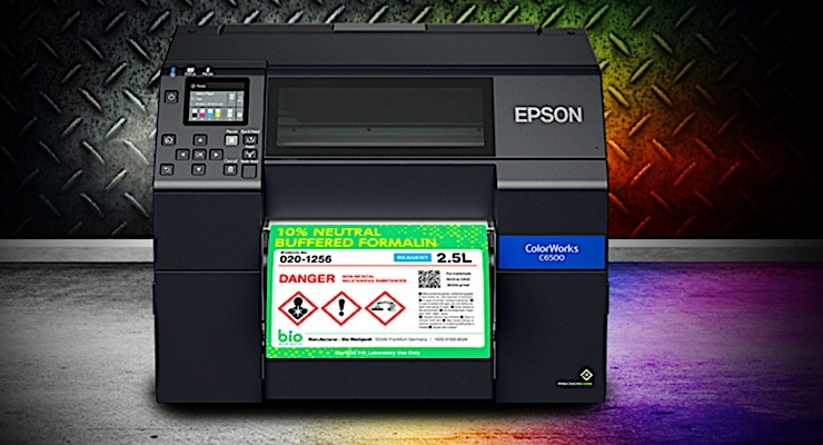Epson partners with Teklynx