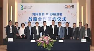 CMAB Biopharma, BJ Bioscience in Strategic Development and Mfg. Pact