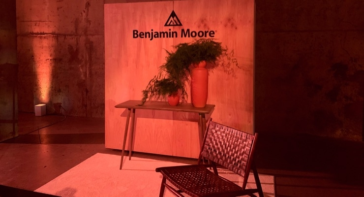 Benjamin Moore Unveils 2020 Color of the Year in NYC
