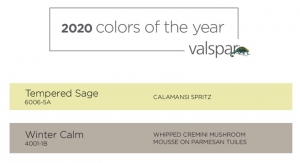 Valspar 2020 Colors of the Year