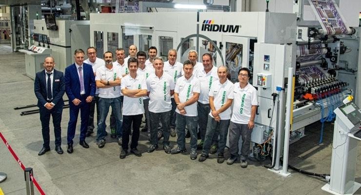 A.Celli Hosts Iridium Showcase