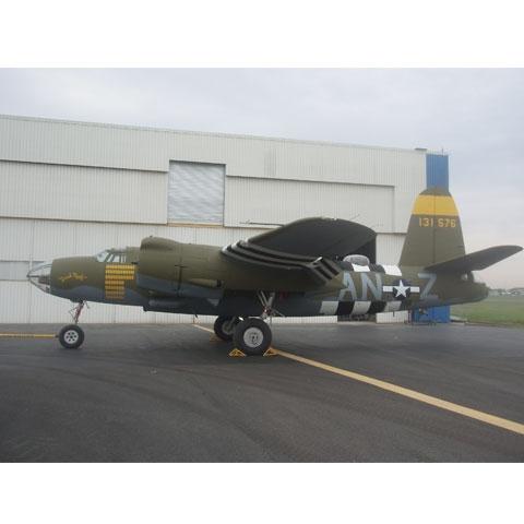 PPG Aerospace coatings capture colors of World War II bomber
