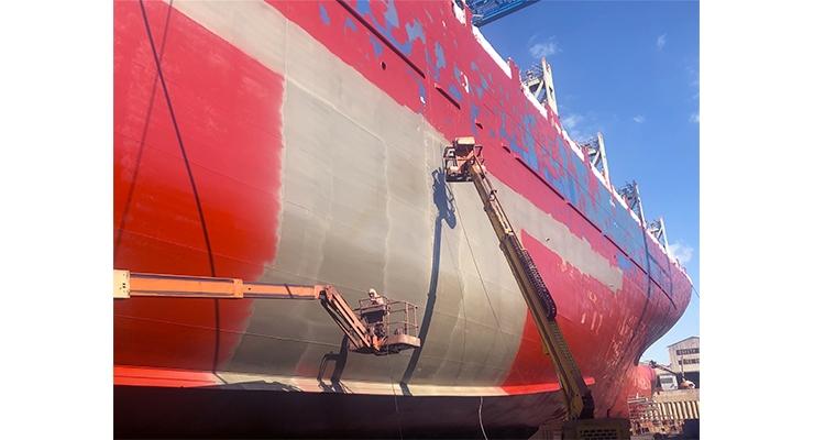 Talga Graphene Coating Begins Commercial-scale Trial on Cargo Vessel