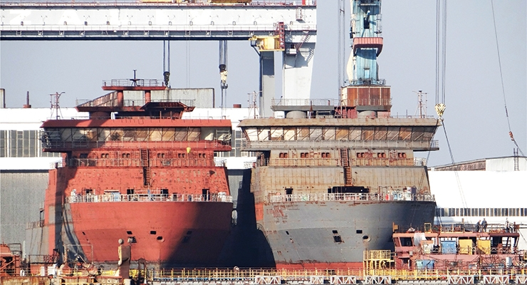 Russia Ramps Up Marine Coatings Production