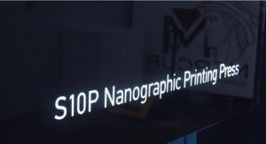 Landa S10P Nanographic Printing Press at Mercury Print