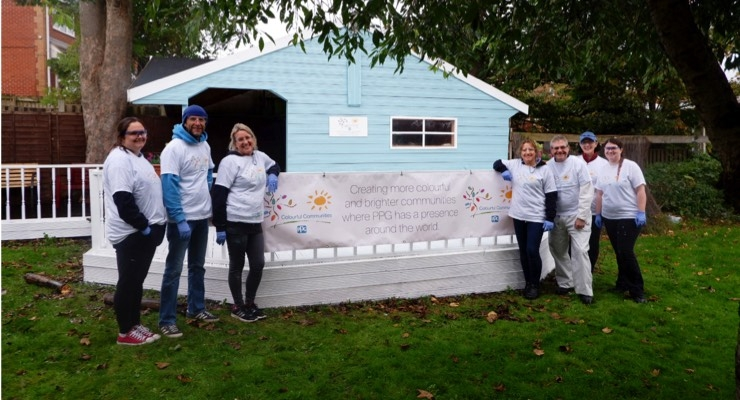 PPG Completes COLORFUL COMMUNITIES Project at Millbrow Care Home
