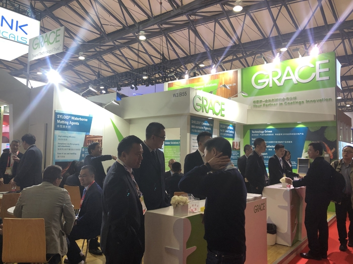 Grace Showcases Additives for Wide Range of Coating Applications at CHINACOAT