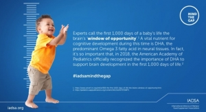 IADSA Includes Omega-3s and Folic Acid in 'Mind the Gap' Resource Campaign