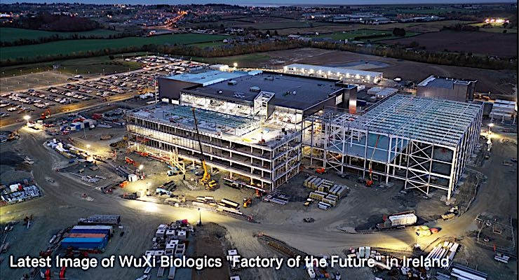 WuXi Vaccines to Build a New Vaccine Mfg. Facility in Ireland