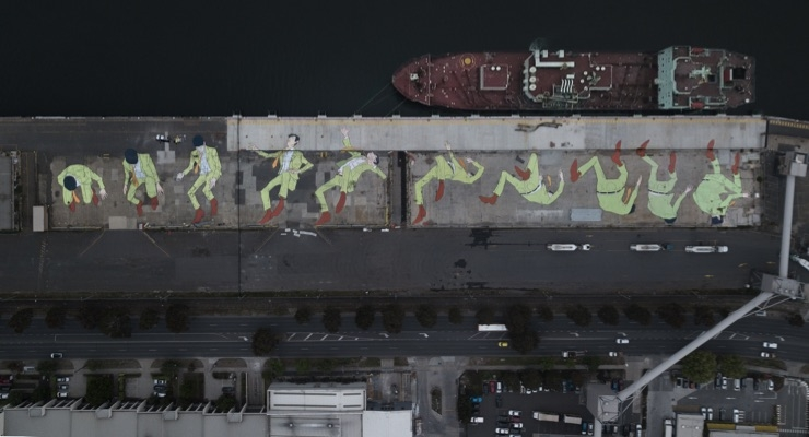 TAUBMANS All Weather Paint by PPG Used to Create Record-breaking Mural