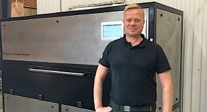 Flexo Wash laser cleaner installed in Denmark