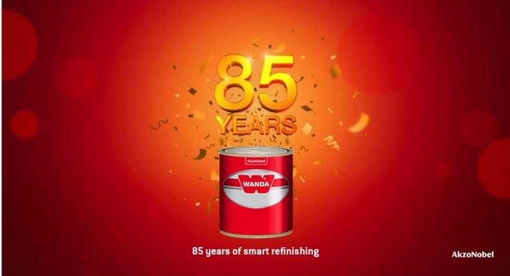 AkzoNobel's Wanda Vehicle Refinishes Brand Celebrates 85th Anniversary
