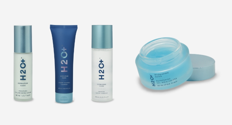 H2O+ Reimagines Hydration Oasis