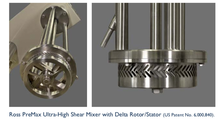 Move your media mill process to an ultra-high shear mixer.