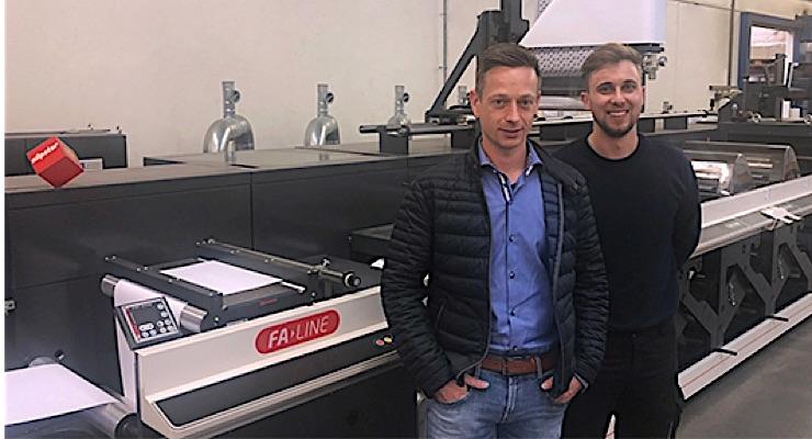 Austrian converter installs first Nilpeter press