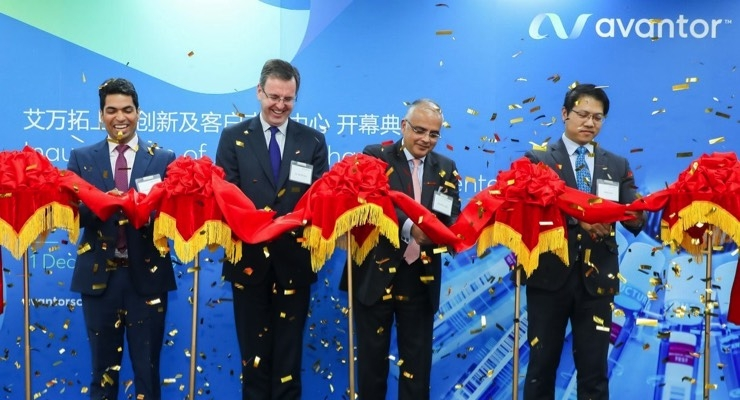Avantor Boosts Biopharmaceutical Innovation in China