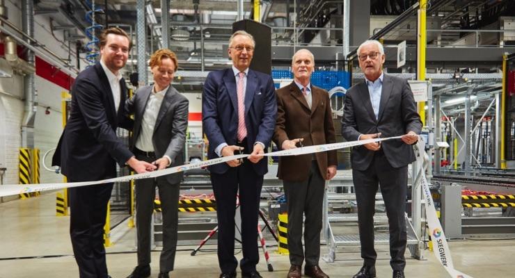 Siegwerk opens Europe