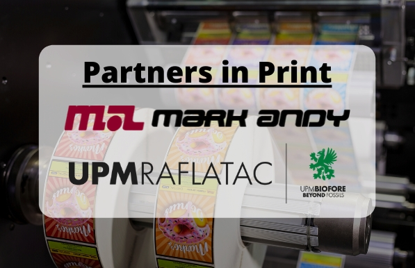 Mark Andy joins forces with UPM Raflatac