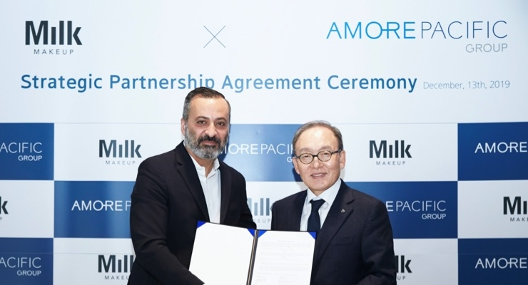 Amorepacific Takes Stake in Milk Makeup