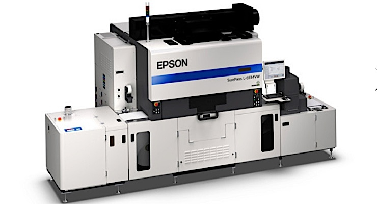 Epson unveils new UV digital label press