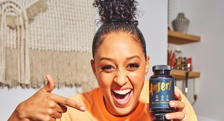 Tia Mowry Rolls Out Supplements