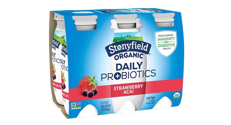 Stonyfield Organic Launches Daily Probiotic Yogurt Drink