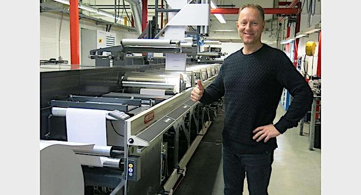 Norwegian converter acquires Nilpeter press