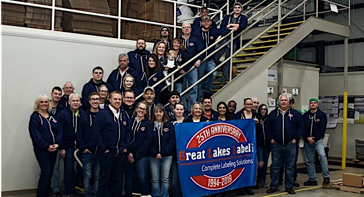 Great Lakes Label celebrates 25th anniversary