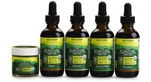 Sunsoil Full Spectrum CBD Oils Certified Organic