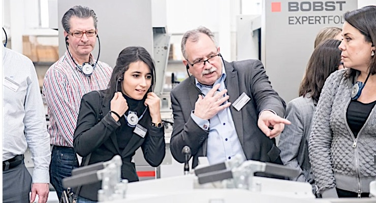 Bobst sees strong feedback for first Packaging MasterClass