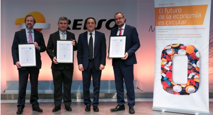 Repsol Certifies Petrochemical Complexes for Circular Polyolefin Production