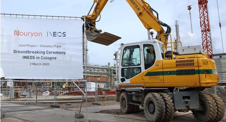 Nouryon, INEOS Nitriles Break Ground on New German Facilities